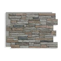 Stone Veneer Exterior, Faux Stone Veneer, Faux Stone Siding, Stone Veneer Panels, Faux Stone Panels, Faux Brick, Exterior Siding, Exterior Colors, Stone On House Exterior
