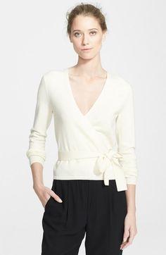 DVF Ballerina Cardigan Sweater