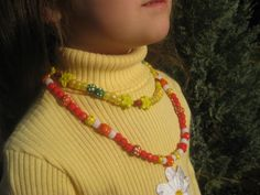 Girl's Lady Buggalicious Necklace Set by Twinklingskydesigns, $6.75