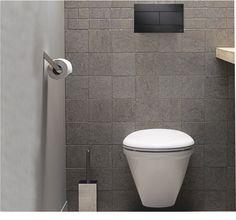 """Plaques """"BACCARA""""  Existe en blanc, chromée, chromée mate, noire soft, noire… Toilette Design, Toilet Room, Downstairs Loo, Color Tile, Bathroom Inspiration, Tile Floor, Home Decor, Images, Toilets"""