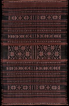 Ikat from Lembata, Solor Archipelago, Indonesia 1930