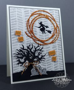 StampinDreams.com Stampin Up; Halloween Scenes Bundle