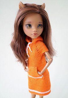 PlayDolls.ru - Играем в куклы: Апельсиновая кошечка: Одежда для кукол. (12/57)