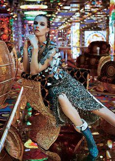 time to shine: egle tvirbutaite by rokas darulis for uk glamour december 2014