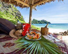 Romantic Private Picnic on Tokoriki Island Resort, Mamanuca Islands, Fiji