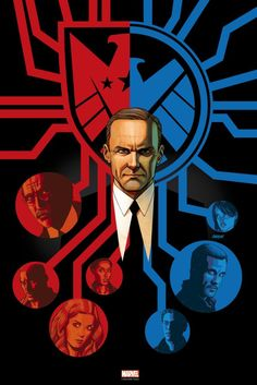 Coulson is on the run, but what classic Marvel superhero could join him, and for that matter who are those Inhumans hanging around? All this and more in this week's Agents of SHIELD breakdown! Luke Mitchell, Univers Marvel, Phil Coulson, Hq Marvel, Marvel Movies, Mundo Marvel, Joss Whedon, Gotham, Le Shield