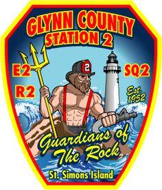 Glynn County FD Station 2, St. Simon's Island.
