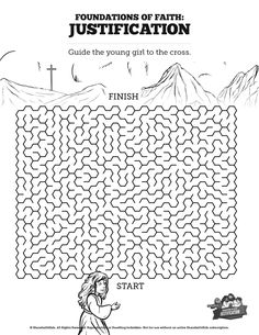 Jesus Chooses His 12 Disciples Bible Mazes: This 12