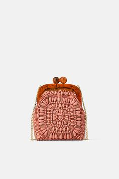 Image 2 of BEADED MINI CROSSBODY BAG WITH CLASP from Zara