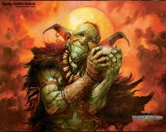 Squee Goblin Nabob by Greg Staples