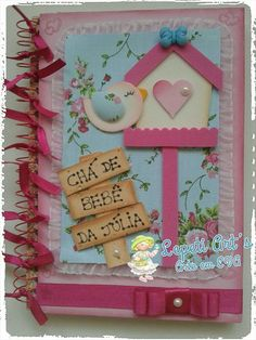 Scrapbook Cover, Scrapbook Albums, Easy Paper Crafts, Foam Crafts, Diary Decoration, Notebook Cover Design, Folder Design, Paper Piecing, Crafts For Kids