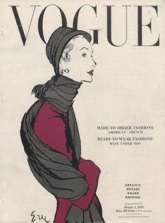 Publication Name | October 1 1948 Vintage Vogue Covers, October 1, Archive, Usa