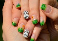 Easter Coming To Soon, This Nail Art Will Inspire You