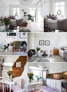 40 square meters Swedish flat.
