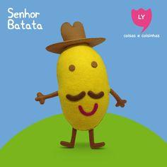 Sr. Batata  #srbatata #batata #peppapig #feltro #felt #lycoisasecoisinhas  www.lycoisasecoisinhas.worpress.com