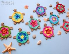 CROCHET PATTERN Curious Cats a colorful cat by TheHatandI