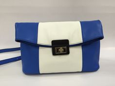 SS17 ,Big fringe Blue white blue, nice match.