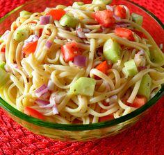 Recipe For Linguini Salad | Linguine Salad 193565 | BigOven