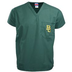 -Baylor Bears Green Scrub Top $25.95
