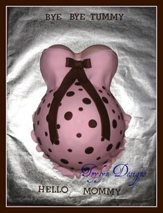 brown pink baby shower decorations - Google Search