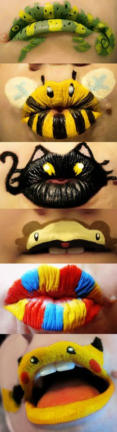Halloween perhaps? I don't know if I would do this or why but its cool!