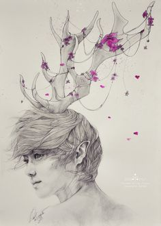 Luhan fanart - Neverland: Portrait of the Forest by e11ie.deviantart.com on @deviantART
