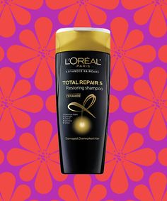 Loreal Paris Shampoo Conditioner Review Total Repair | My personal review on this cheap thrill that transformed my hair in one shampoo wash. #refinery29 http://www.refinery29.com/loreal-paris-shampoo-review