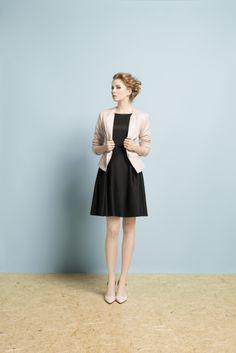 Kolekcja wiosna/lato 2014 #moda #kolekcja #lato #wiosna #wiosna-lato 2014 #SS2014 #danhen #lookbook #pikowanie #kurteczka #wiosenna stylizacja #czarna sukienka #mała czarna #klasyka #elegancja #ponadczasowy styl