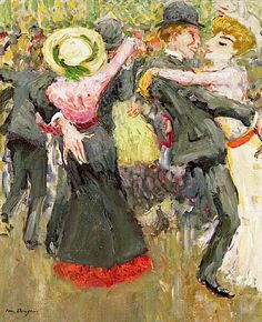 Dancers or, La Matchiche, 1904-05 (oil on canvas), Dongen, Kees van (1877-1968)