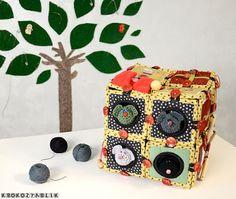 КрокоЗяблик: Кубики на коляску / cubes for baby stroller