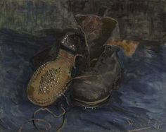 Great Works: A Pair of Boots (Les Souliers) by Vincent van Gogh.