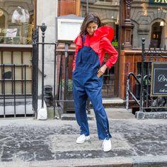 Ethical fashion | JasmineHemsley.com Dungarees, Overalls, Jasmine Hemsley, Ethical Fashion, Pants, Shirts, Style, Trouser Pants, Swag