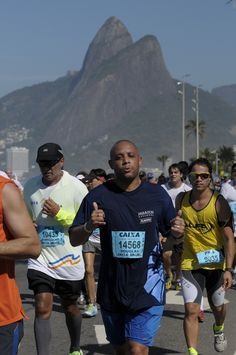 """#9 - 30-Ago-2015 = """"21K"""" - Tempo 02:33:12 (Nº 14568). XIX Meia Maratona Internacional do Rio de Janeiro."""