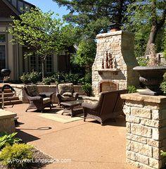 14 Best St Louis Outdoor Fireplaces Kitchens Images Landscape