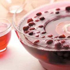 Crimson Cranberry Punch Recipe