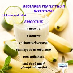 Sănătate la pahar cu SEMINȚE și NUCI - Servus Expert Smoothie Prep, Juice Smoothie, Smoothie Recipes, Healthy Recepies, Healthy Smoothies, Healthy Drinks, Healthy Food, Eat Smart, Dessert Drinks