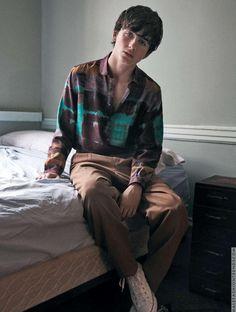 Timothée Chalamet por Carlotta Manaigo para L'Officiel Hommes Italia