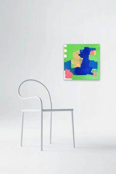 Abstract Acrylic Painting Original Fine Art by linneaheideart