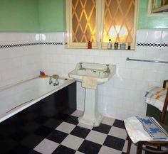 Bathroom Beige Theme Art Deco Style Bathroom Design With Shower Awesome 1940 Bathroom Design Design Inspiration