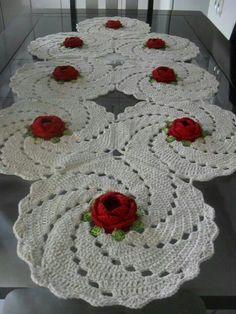Carpeta con rosas