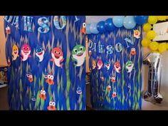 Baby shark decoration 🦈💙 Decoración de Baby shark 🦈 - YouTube
