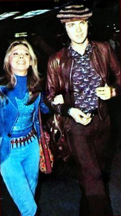 Con su novia Rosseta Arbex