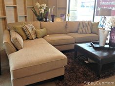 Creating My #MomCave with Inspiration from La-Z-Boy #cbias : lazy boy collins sectional price - Sectionals, Sofas & Couches