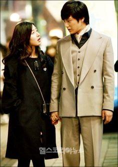 So Yi Jung (Kim Bum) and Chu Ga Eul (Kim So Eun) in Boys Over Flowers. Everyone wanted to see Chu Ga Eul tame playboy, So Yi Jung.