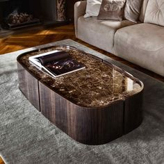 Minimal shapes and high-quality materials are the words that describe Kensington Coffee Table by Daytona. Its design is the result of the combination of modern and traditional elements.