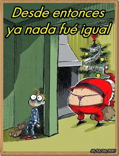 humor grafico navidad ya nada sera igual. Christmas won't be the same after that