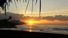 #Sunrise at Keramas, Bali
