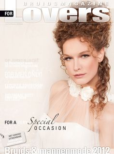 Cover bruidsmagazine For Lovers  Mua : Michèle