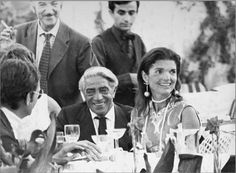 Jackie and Aristotle Onassis