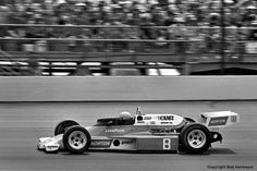 Tom Sneva drove Roger Penske's McLaren M24/Cosworth TC to a 2nd place finish in the 1977 Indy 500.